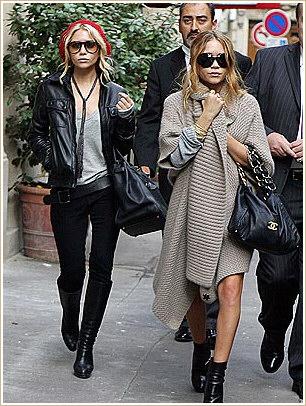 Gemenele Olsen si jachetele voluminoase