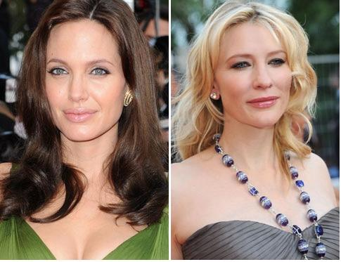 Angelina Jolie si Cate Blanchett