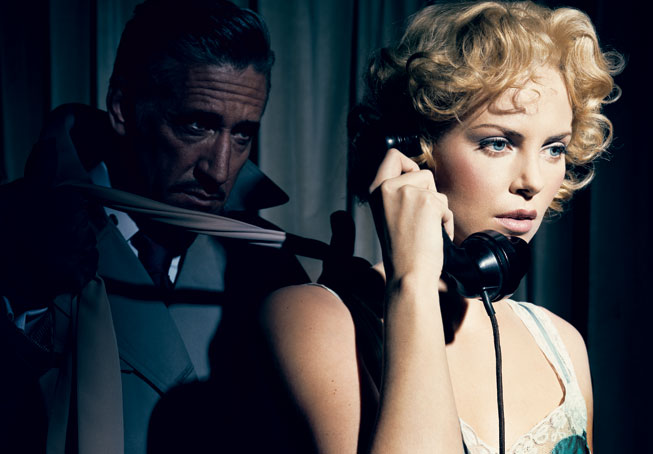 "Charlize Theron in ""Dial M for Murder"""