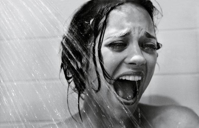 "Marion Cotillard in ""Psycho"""