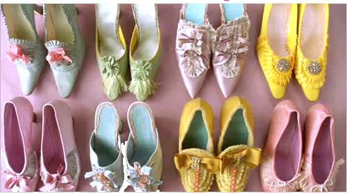 Pantofii din Marie Antoinette