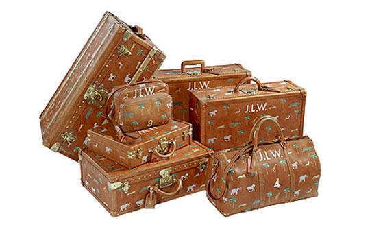 Bagajele Louis Vuitton din Darjeeling Limited