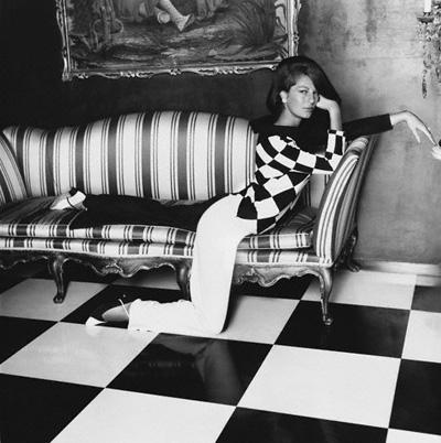 Baronesa Fiona Thyssen-Bornemisza fotografiata de Henry Clarke in 1965