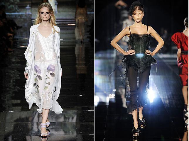Roberto Cavalli, Dolce & Gabbana S/S 09