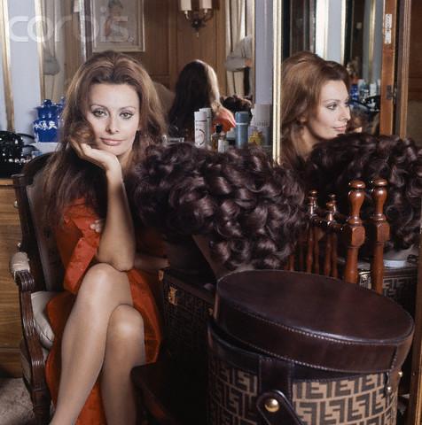Sophia Loren fotografiata de Henry Clarke in 1972