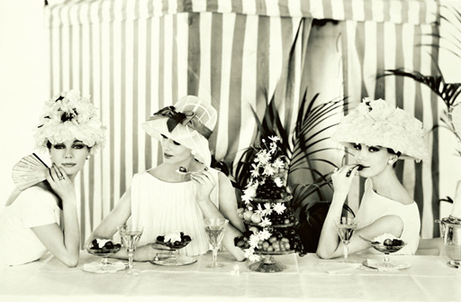 Pictorial Summer Pleasures pentru Vogue, 1960