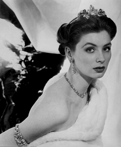 Suzy Parker fotografiata de Henry Clarke in 1953