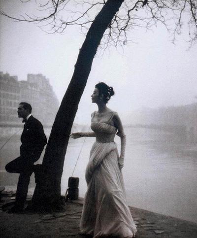 Suzy Parker fotografiata de Henry Clarke in 1953