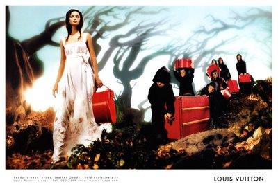Les contes des fees, campania Louis Vuitton S/S 2002