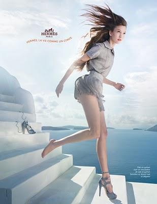 La vie comme une conte - campania Hermes S/S 2010, fotograf Paolo Roversi