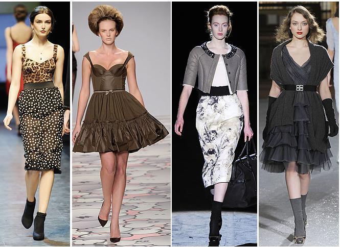Dolce&Gabbana, Giles, Iceberg, Luisa Beccaria A/W 2010