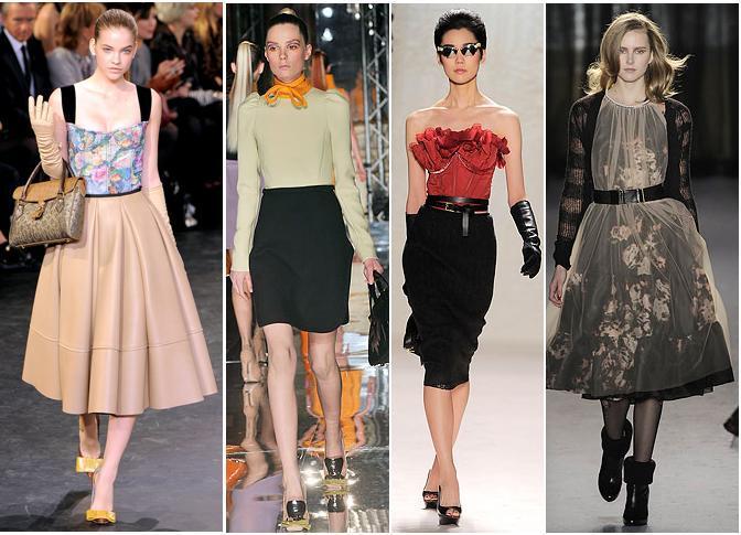 Louis Vuitton, Miu MIu, Nina Ricci, Paul Smith A/W 2010