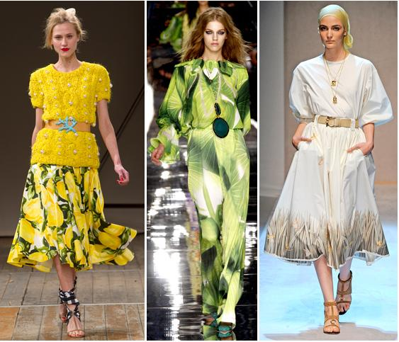 Moschino Cheap&Chic, Just Cavalli, Salvatore Ferragamo S/S 2011