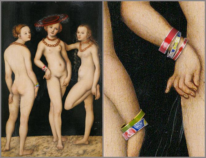 Lucas Cranach cel Batran, Cele trei gratii (1531)
