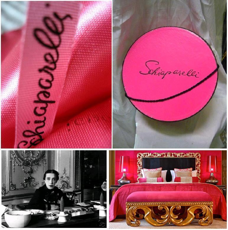 Elsa Schiaparelli si Shocking Pink