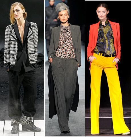 Chanel, Jean Paul Gaultier, Paul&Joe A/W 2011