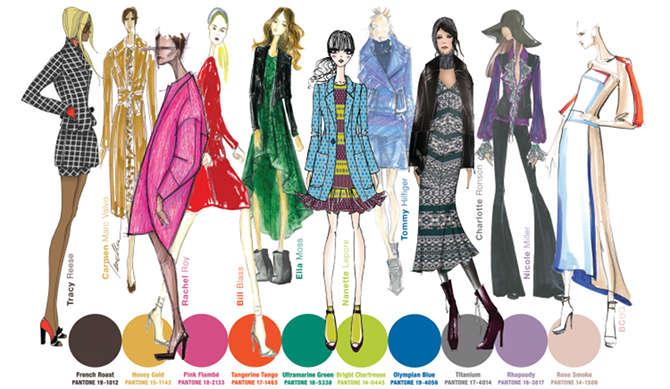 Pantone tendinte culori pentru toamna 2012