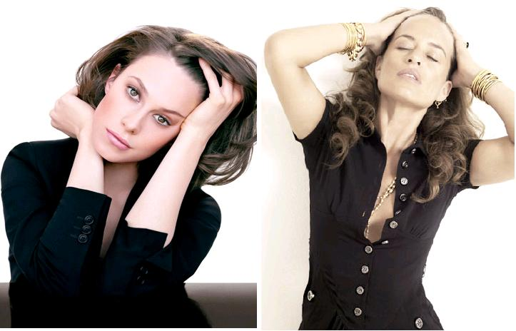 Elettra Rossellini si Jade Jagger