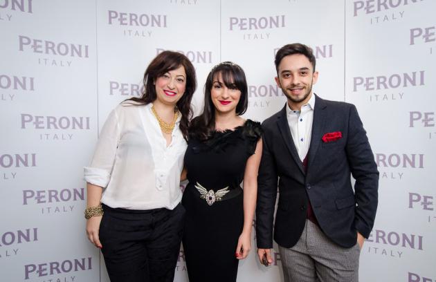 Bloggerii din Peroni Collaborazioni Inverno: Irina Markovits, Ana Maria Morodan, Claudiu Enescu