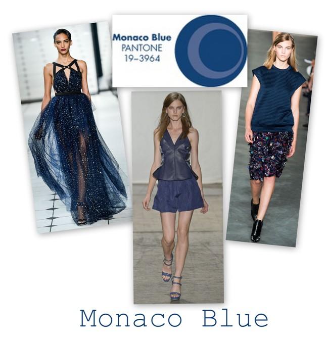 Monaco Blue in colectiile Jason Wu Rebecca Taylor Derek Lam S/S 2013