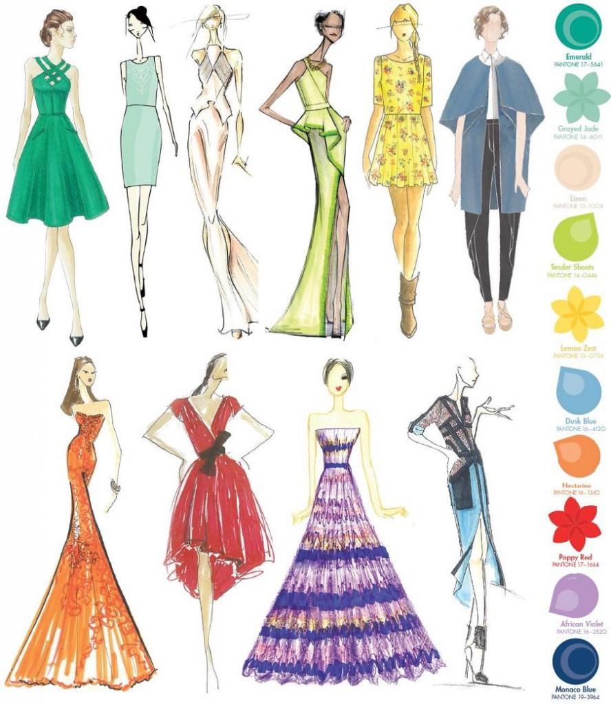 Tendinte cromatice pentru primavara 2013: Pantone Fashion Color Report