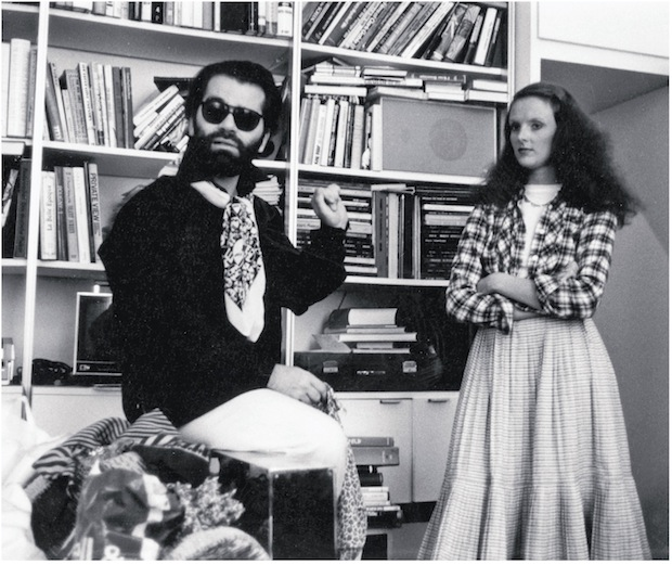 Grace Coddington si Karl Lagerfeld