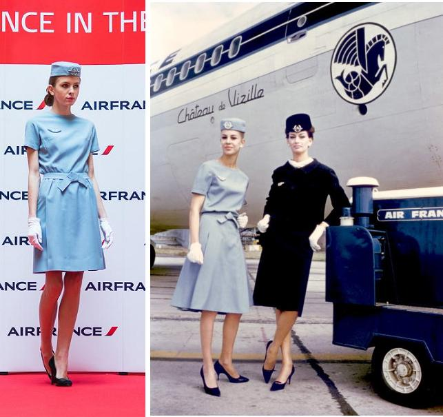 Uniforme Dior pentru Air France
