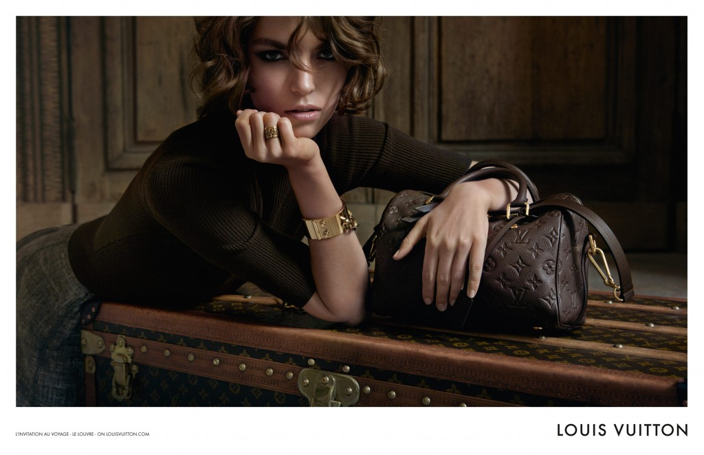 Arizona Muse pentru campania Louis Vuitton A/W 2012