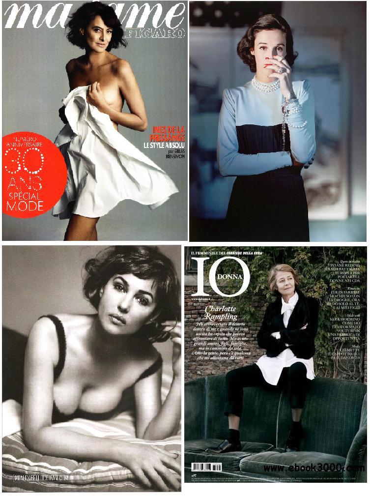 Ines de la Fressange, Babe Paley, Monica Belucci, Charlotte Rampling