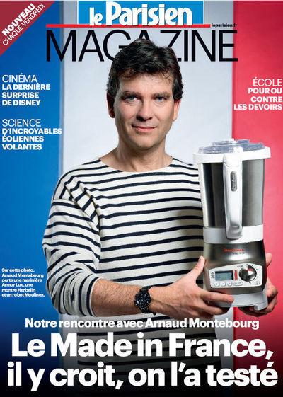 Arnaud Montebourg pe coperta Le Parisien