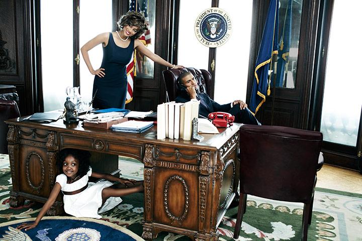 Tyra Banks la Casa Alba