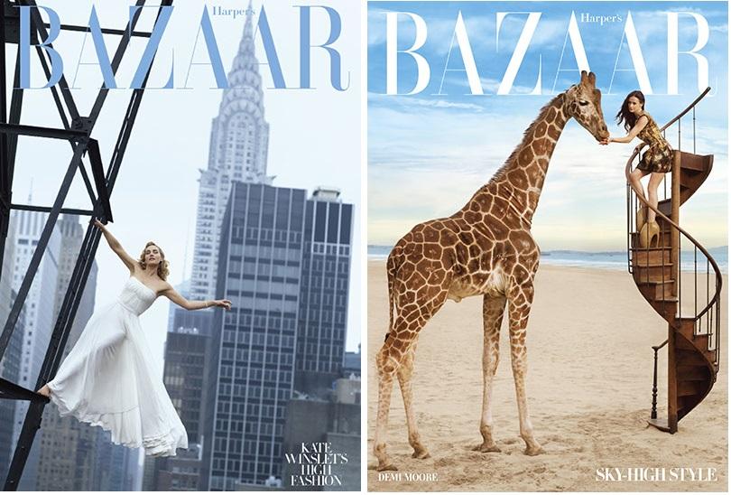 coperti Harper's Bazaar