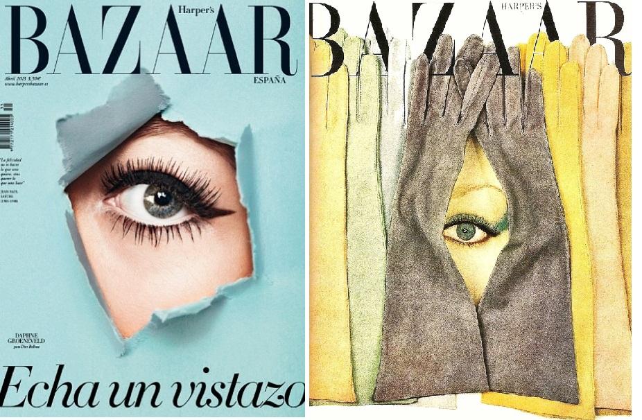 Coperti Harper's Bazaar: mai 2012, Spania; 1959, USA