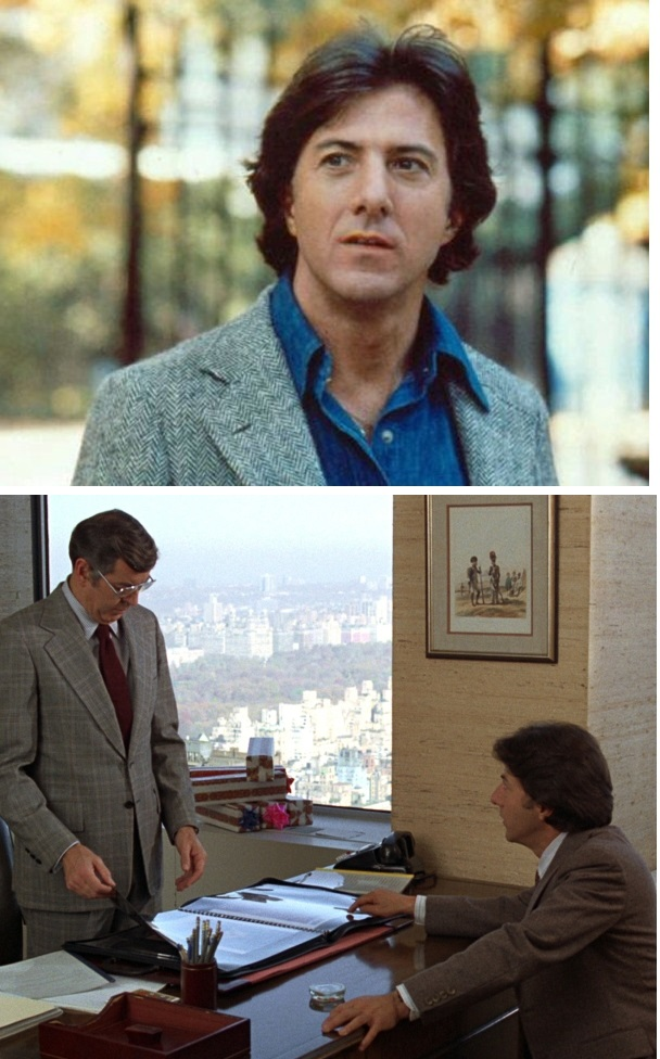 Dustin Hoffman in rolul lui Ted Kramer