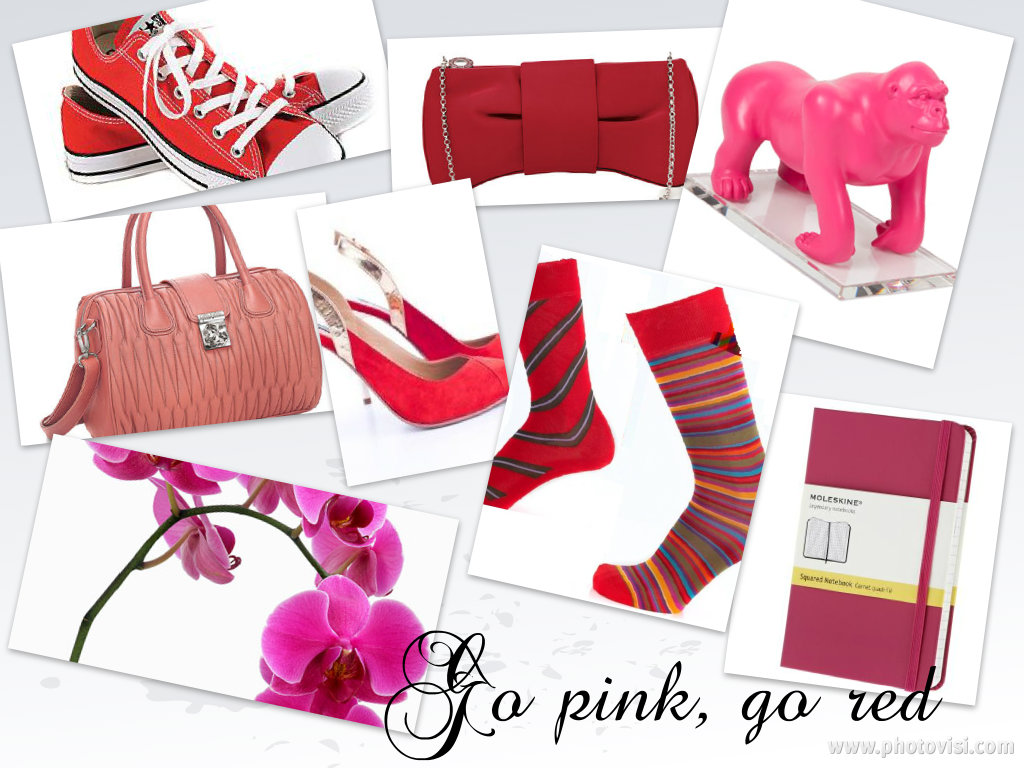 colaj go pink go red
