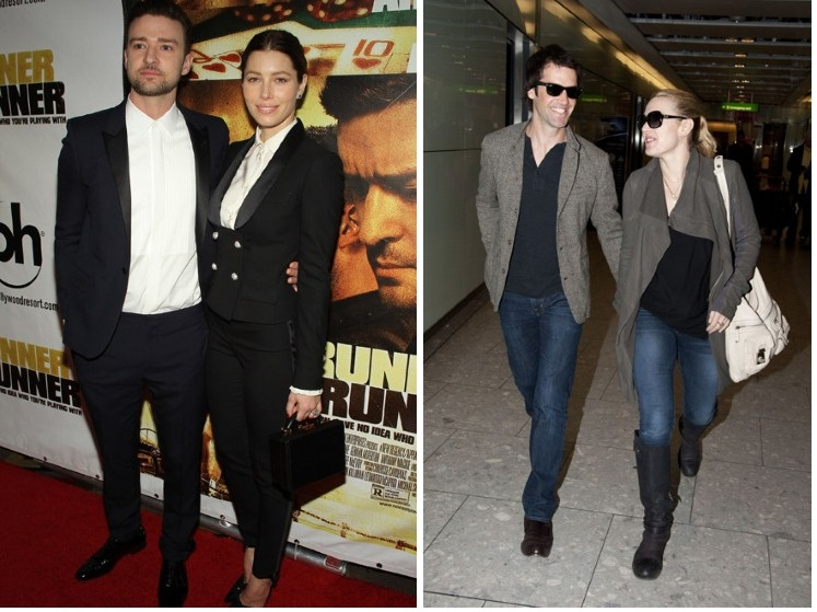 Justin Timberlake & Jessica Biel; Kate Winslet si John Rocknroll