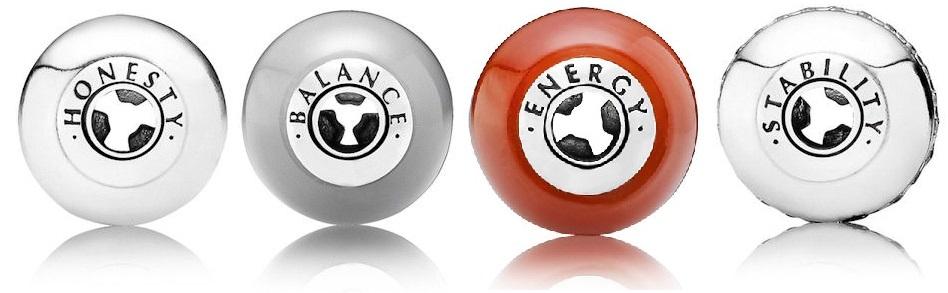 colectia Pandora Essence Honesty Balance Energy Stability
