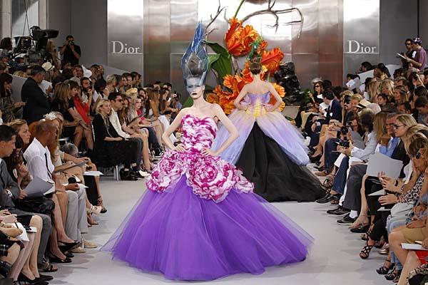 John Galliano pentru Dior, Haute Couture toamna 2010