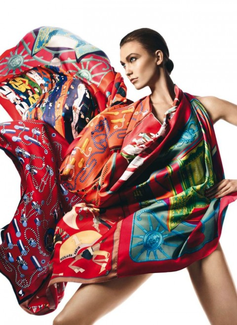 The Hermes Scarf: History & Mistique