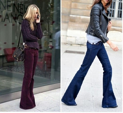 Pot sa (mai) port pantalonii evazati?