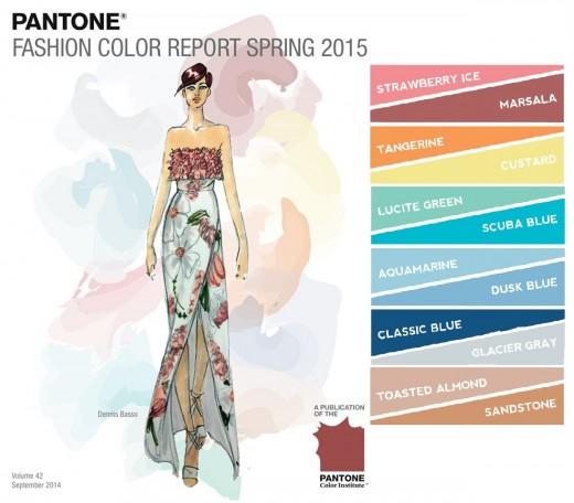 Culorile primaverii 2015: Pantone Fashion Color Report