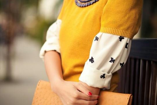 Pot sa (mai) port puloverul cu maneci scurte?