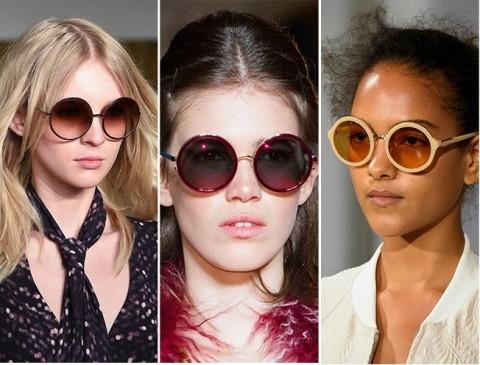 Vara 2015 si ochelarii de soare in tendinte: rame rotunde