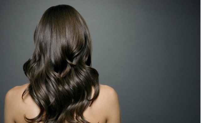 Glossy hair, shiny hair...