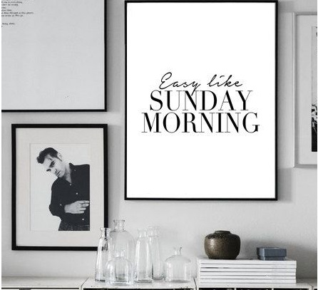 Easy like a Sunday morning #25