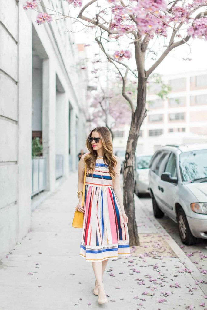 striped_kate_spade_dress